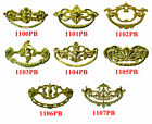 "Cast Brass Victorian Style, Bail Type, Drawer Pulls, 3"" centers, 8 Styles."