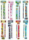 4 Piece STATIONERY SET - CHOICE OF THEME (School/Loot/Party/Filler Pencil)