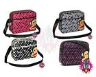 PAUL FRANK JULIUS MONKEY POLKA DOT SHOULDER MESSENGER SPORTS GYM SCHOOL BAG