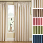 Tranquility Blackout Black Out Thermal Pencil Pleat Tape Top Ready Made Curtains