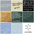Home decor wall art 30x30cm Square Wall Canvas with Wooden Frame Various Designs