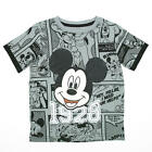 "Disney Boys Grey Mickey Mouse ""1928"" Short Sleeve T Shirt- Toddler"