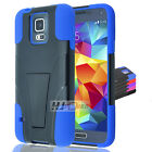 For Alcatel Conquest Hybrid Rubber Hard Y Stand Case Colors