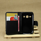 For Galaxy fame S6810 Fashion Book Style Stand Cover Case Card Holder