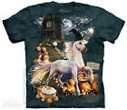 HALLOWEEN UNICORN ADULT T-SHIRT THE MOUNTAIN