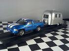 Airstream Travel Trailer & 1996  Dodge Ram Truck  Xtraction HO Scale Slot Car