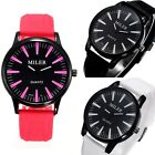 Fashion Casual Men's Rubber Band Waterproof Quartz Wrist Watches Gift Watch