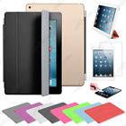 Housse Coque Etui SmartCover Case Support PU Cuir Apple iPad 5 Air Wi-Fi 3G