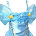 NEW Girls Cinderella Princess Costumes For Birthday Holiday Dress-wear Cos-play