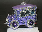Kit makes 1 Car Bead & Sequin Christmas Ornament Blue, Green, Purple + NEW