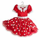 Disney Store Minnie Mouse Halloween Costume Dress Girl Size 3 4 5/6