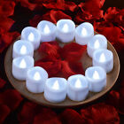 6/60pcs Electronic Flameless LED Tea light Candles smokeless Candles for party