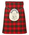 New Scottish Tartan Wedding Wallace 5 Yard Acrylic Kilt Size 30-54