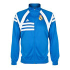 Adidas Real Madrid Tracktop Trainingsjacke Jacke Trikot Anthem Airforce Blue