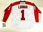 ROBERTO LUONGO REEBOK PREMIER FLORIDA PANTHERS WHITE ROAD JERSEY NEW WITH TAGS