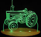 """Tractor JD 720 Farm Equip Edge Lit 11-13"""" Lighted Sign LED Plaque VVD24 USA Made"""