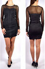 PEPE Jeans HALEY Dress black with Rivets - Size XS / M - NEW