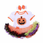 BABY Girls Halloween Holiday Tulle Adornment Cosplay Suit For 0-12M Dresses