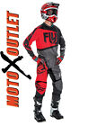 2016 Fly Racing F-16 Jersey & Pant Combo Motocross Red Gear F16 Kids Adult