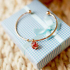 Grace Girls Chic New Delicate Ball High Transport Zircon Bangle Bracelet Jewelry