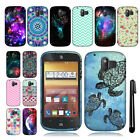For ZTE Compel Z830 TPU SILICONE Rubber SKIN Soft Case Phone Cover + Pen