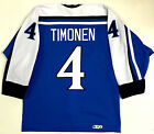 KIMMO TIMONEN AUTHENTIC TEAM FINLAND JERSEY W FIGHT STRAP