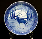 Lot of 10 Royal Copenhagen Christmas Collector's Plates 1960-1969