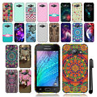 For Samsung Galaxy J1 J100 TPU SILICONE Rubber SKIN Soft Case Phone Cover + Pen