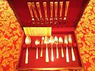 "36 pc. set service for 8 Wm. A. Rogers Oneida Ltd.  Silver Plate ""Capri"" C. 1935"