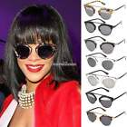 Women's Vintage Fashion Unisex Sunglasses Plastic Frame Cat Eye Eyewear SH