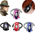 Ear-Hook Wireless Bluetooth Mini Headset Earphone Stereo for Universal Cellphone