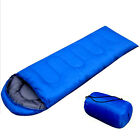 2015 New Outdoor Portable Camping Hiking Winter Sleeping Bag w/ Carry Bags US HF