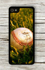 BASEBALL BALL ON GRASS FIELD CASE FOR iPHONE 4 5 5C 6 -ghf4Z