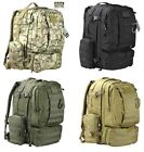 Army Combat Viking Military Rucksack Backpack Travel Pack Back Bag Molle 60L New