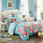 Leopard Rose Duvet/Doona/Quilt Cover Pillowcases Single/Queen/King Bed Set New
