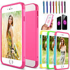 """For iPhone 6S 6 4.7"""" Hybrid Ultra Thin Protective Hard Case Slim TPU Skin Cover"""