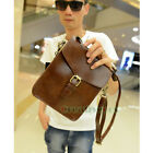 Men's Vintage PU Leather Flalp Crossbody Messenger Shoulder Bag Purse Pouch New