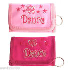 BALLET / DANCE PINK TRI-FOLD WALLET, PURSE, GIFT, PRESENT, STOCKING FILLER