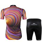 Cycling Bike Bicycle Short Sleeve Set Men 3D Pattern Jersey + Shorts CC2003-1