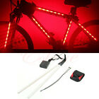 Universal Cycling Bicycle 14 LED Safety Wheel Tire Spoke Light Strip 3 Modes
