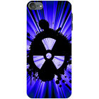 Radio Active Grunge Nuke  Hard Case For Apple iPod Touch 6th Gen