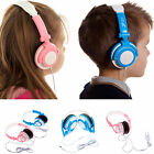 Ultimate Addons Kids Boy Girl Small DJ Style Folding 3.5mm Stereo Headphones