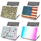 Print Plastic Hard Case Shell +Keyboard Cover for Apple Macbook Air 13'' B20E