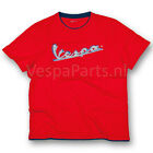 Vespa Mens Casual Wear T-Shirt Red With Vespa Logo New RRP £34.99!!!