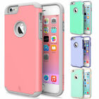 """Shockproof Rugged Hybrid Rubber Hard Cover Case for Apple iPhone 6/6S 4.7"""""""