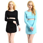 New Women Summer Sexy Bodycon Casual Party Evening Cocktail Short Mini Dress kb