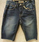 "RS+ Men's Jean Shorts ""London Skinny"" -- size 30"