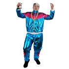 ADULTS TRACKSUIT 80S 90S COSTUME SHELL SUIT CHAV SCOUSER STAG DO FANCY DRESS