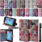 For Samsung Galaxy J1 J100 Flip Wallet LEATHER Skin POUCH Case Phone Cover + Pen