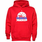 NEW Mens MAJESTIC Philadelphia 76'ers SIXERS Game Face Hoodie NBA Sweatshirt on eBay
